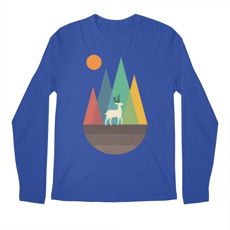 Step Of Autumn Men's Longsleeve T-Shirt by andywestface's Artist Shop