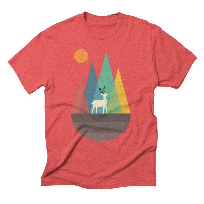 Step Of Autumn Men's Triblend T-shirt by andywestface's Artist Shop