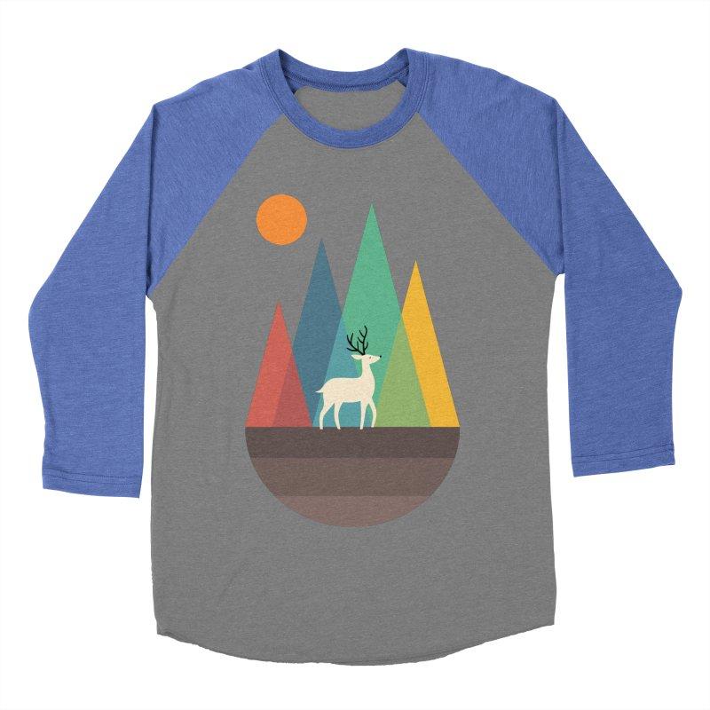 Step Of Autumn Men's Baseball Triblend T-Shirt by andywestface's Artist Shop