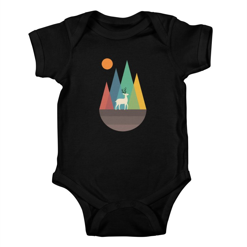 Step Of Autumn Kids Baby Bodysuit by andywestface's Artist Shop