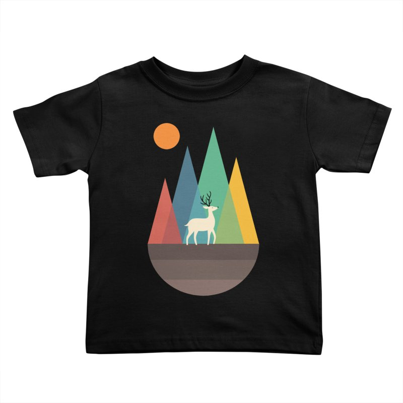 Step Of Autumn Kids Toddler T-Shirt by andywestface's Artist Shop