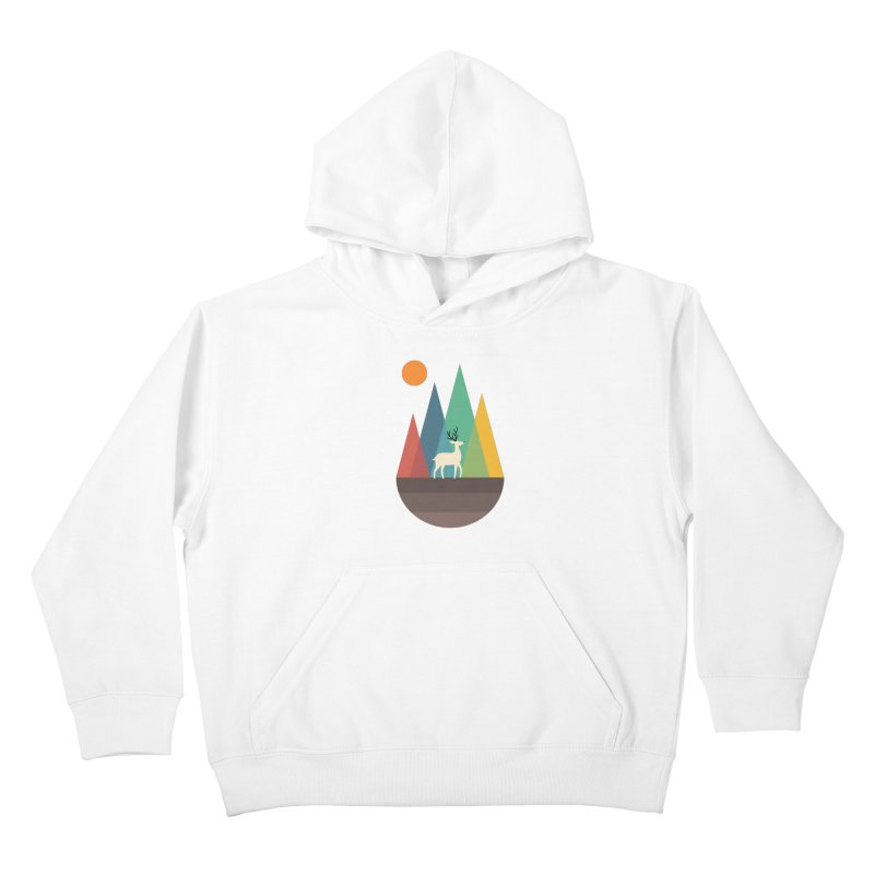 Step Of Autumn Kids Pullover Hoody by andywestface's Artist Shop