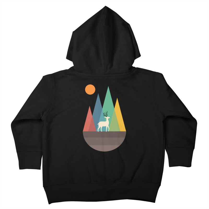 Step Of Autumn Kids Toddler Zip-Up Hoody by andywestface's Artist Shop
