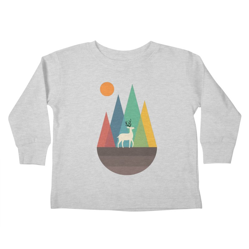 Step Of Autumn Kids Toddler Longsleeve T-Shirt by andywestface's Artist Shop