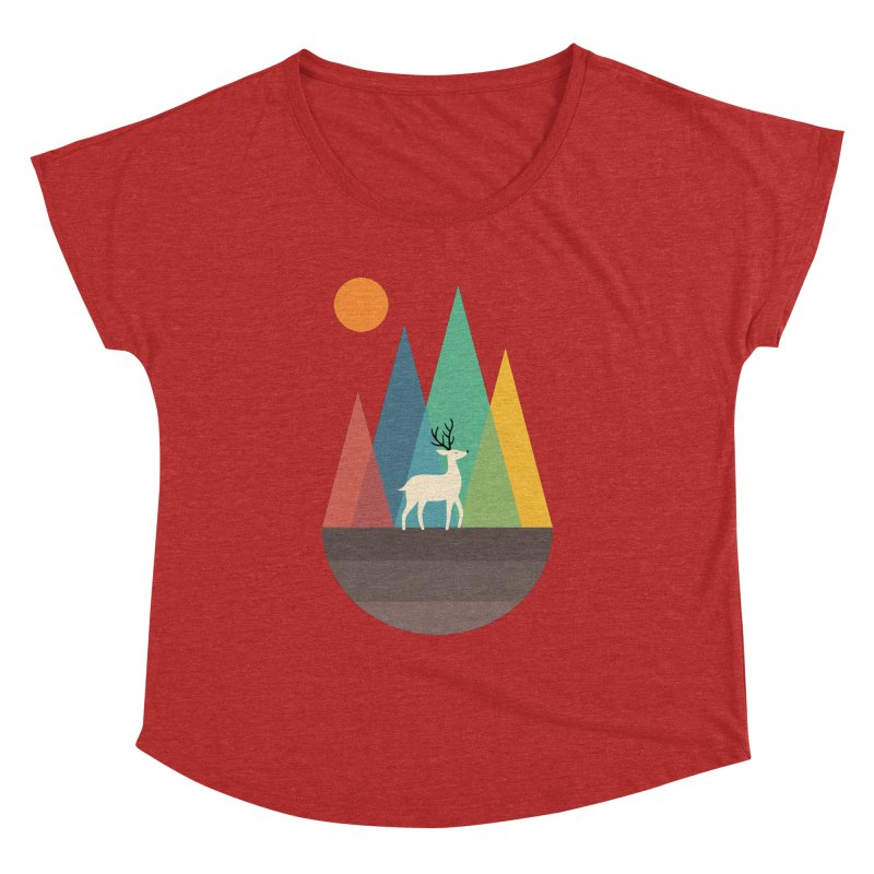 Step Of Autumn Women's Dolman by andywestface's Artist Shop