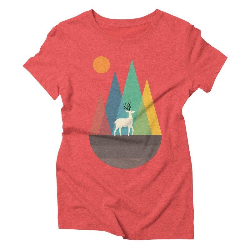 Step Of Autumn Women's Triblend T-shirt by andywestface's Artist Shop