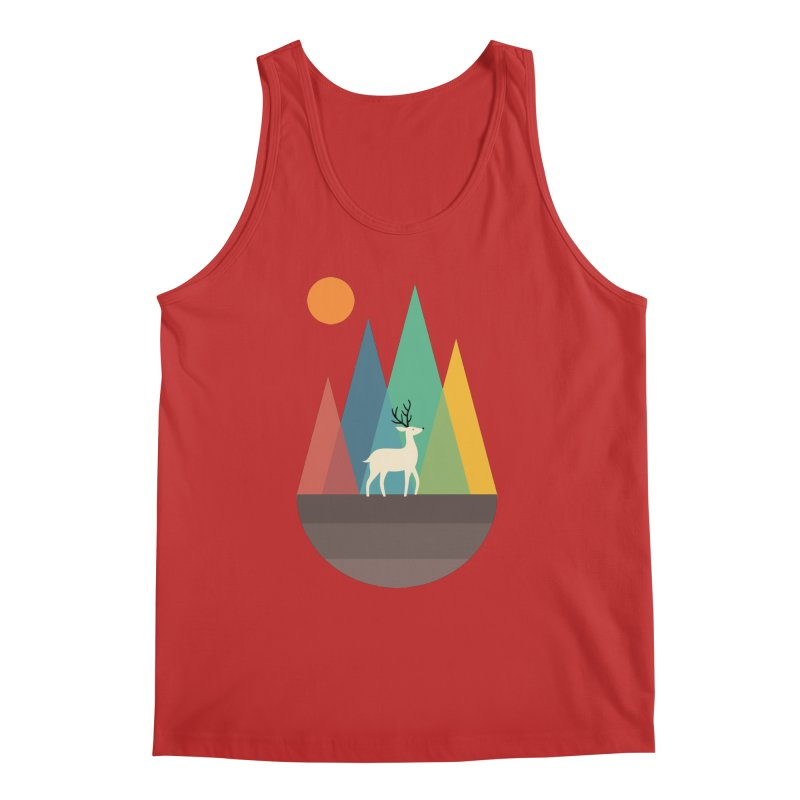 Step Of Autumn Men's Tank by andywestface's Artist Shop