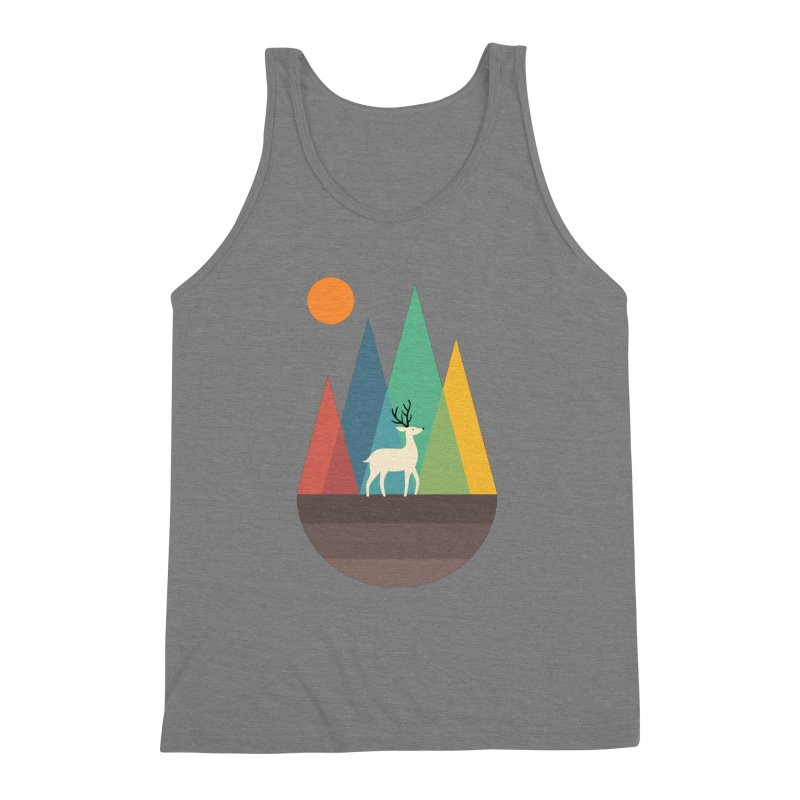 Step Of Autumn Men's Triblend Tank by andywestface's Artist Shop