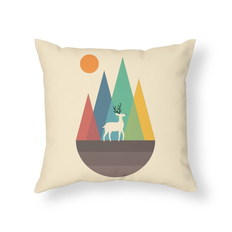 Step Of Autumn Home Throw Pillow by andywestface's Artist Shop