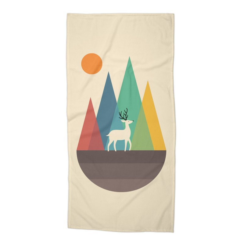 Step Of Autumn Accessories Beach Towel by andywestface's Artist Shop