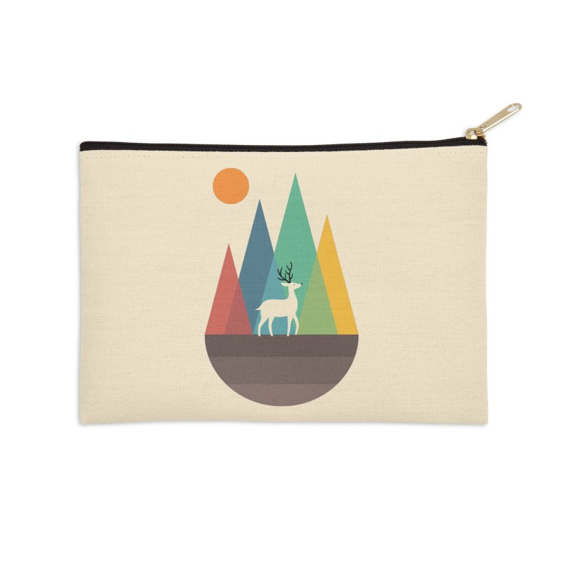 Step Of Autumn Accessories Zip Pouch by andywestface's Artist Shop