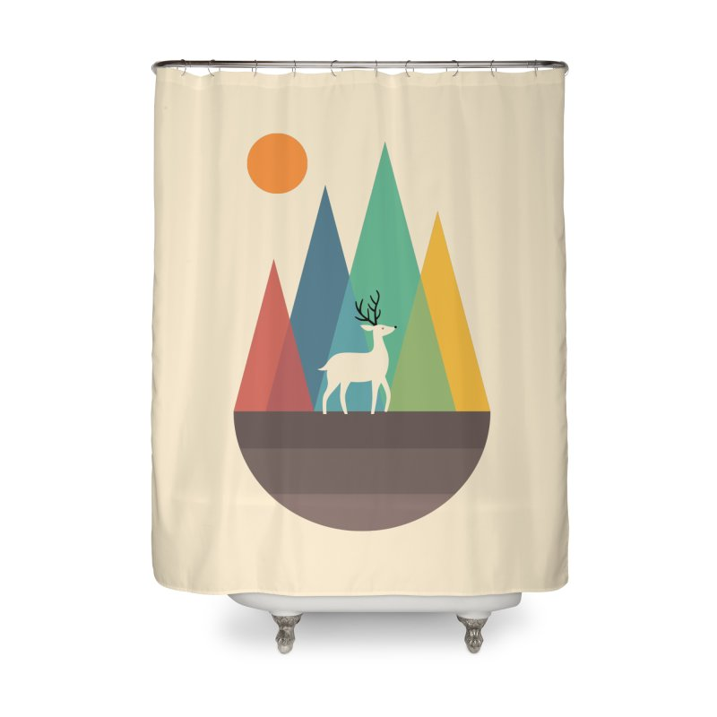 Step Of Autumn Home Shower Curtain by andywestface's Artist Shop