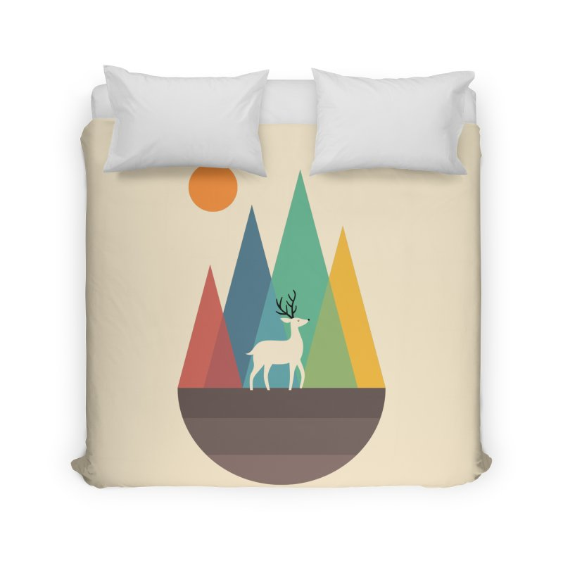 Step Of Autumn Home Duvet by andywestface's Artist Shop