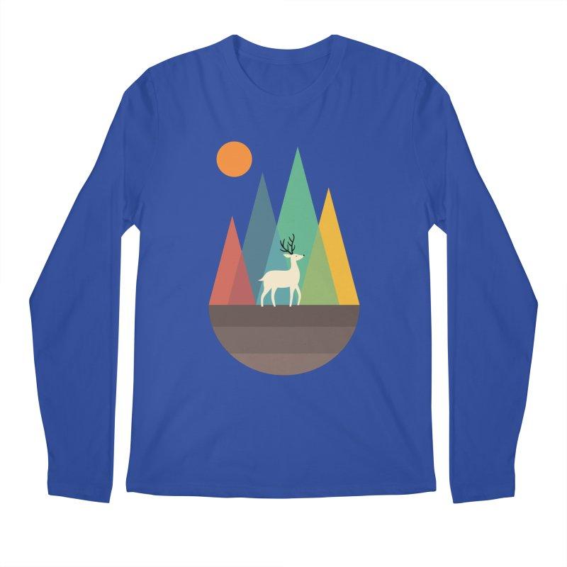 Step Of Autumn Men's Regular Longsleeve T-Shirt by andywestface's Artist Shop