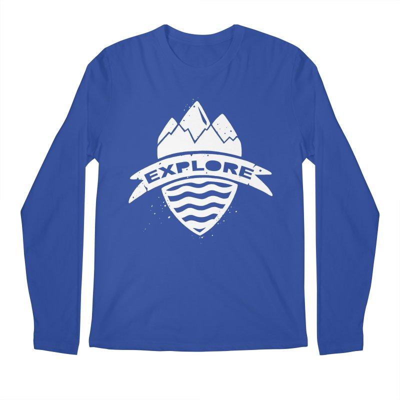 Explorer's Crest Men's Longsleeve T-Shirt by DYLAN'S SHOP