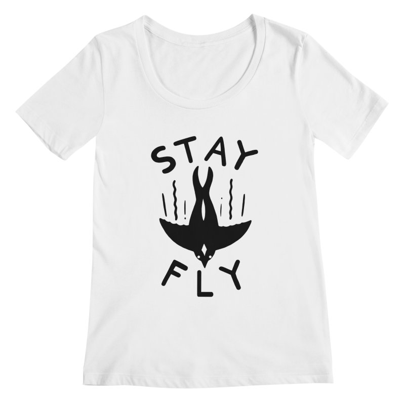 ST\Y FLY Women's Scoopneck by DYLAN'S SHOP