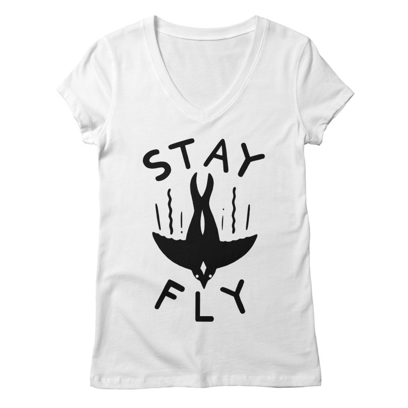 ST\Y FLY Women's V-Neck by DYLAN'S SHOP
