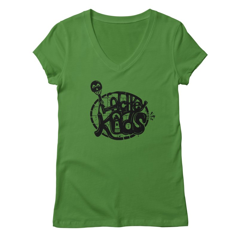 L\TCHKEY KIDS Women's V-Neck by DYLAN'S SHOP