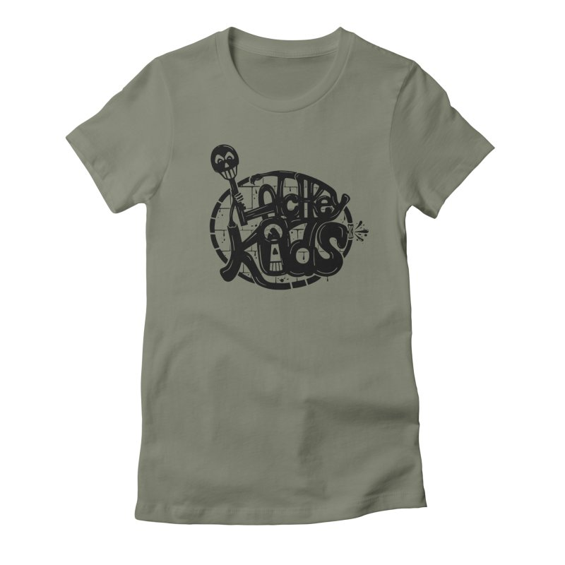 L\TCHKEY KIDS Women's Fitted T-Shirt by DYLAN'S SHOP