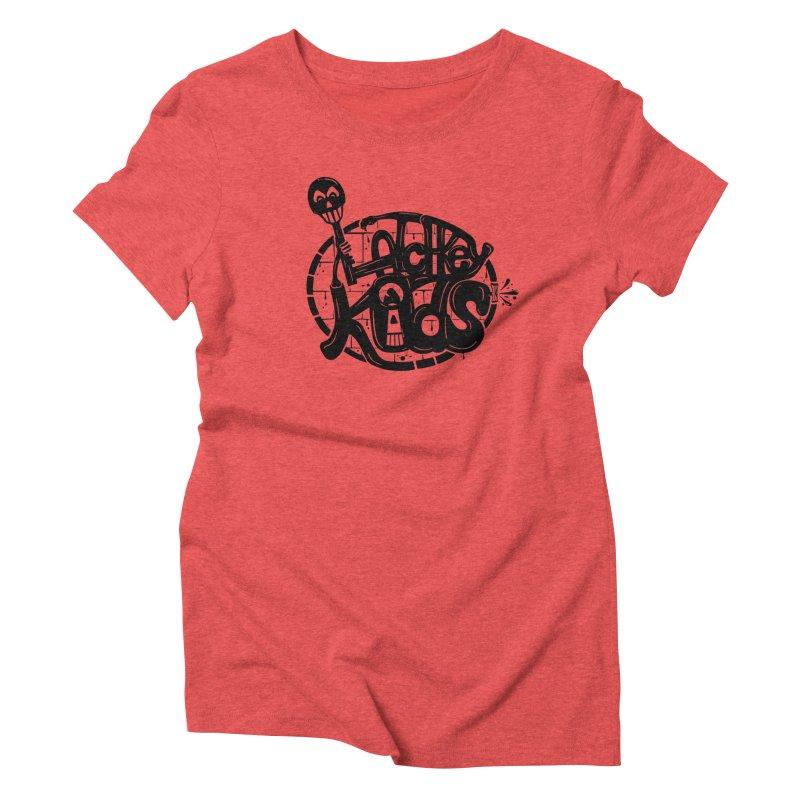 L\TCHKEY KIDS Women's Triblend T-shirt by DYLAN'S SHOP
