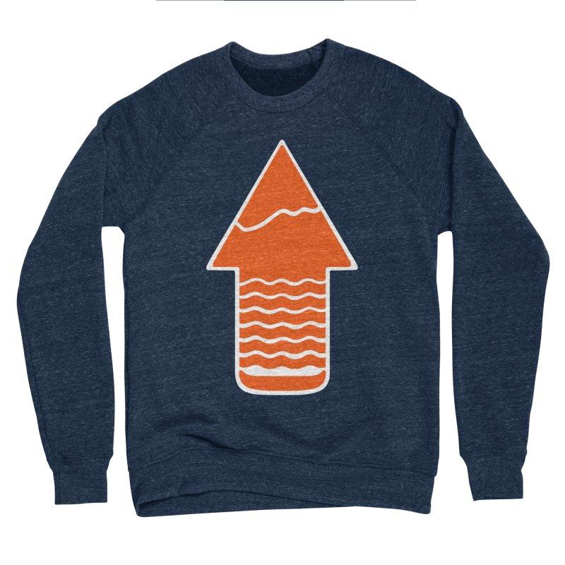 TAKE A HIKE Men's Sponge Fleece Sweatshirt by DYLAN'S SHOP