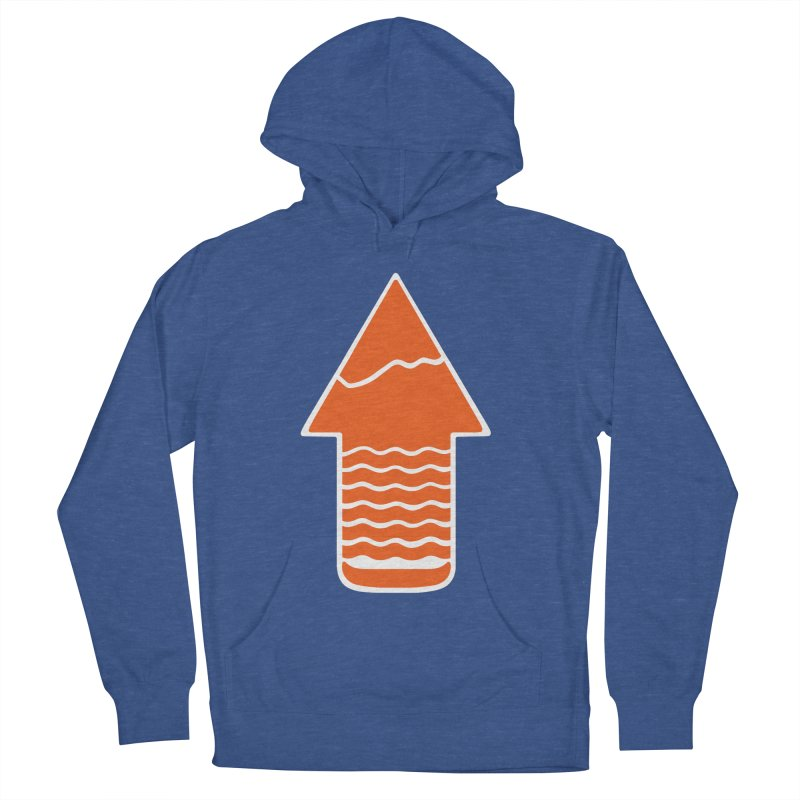 TAKE A HIKE Men's Pullover Hoody by DYLAN'S SHOP
