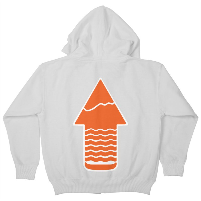 TAKE A HIKE Kids Zip-Up Hoody by DYLAN'S SHOP