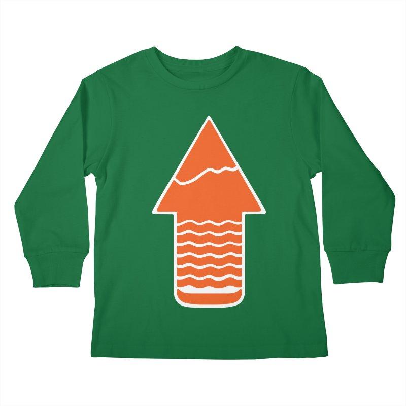 TAKE A HIKE Kids Longsleeve T-Shirt by DYLAN'S SHOP