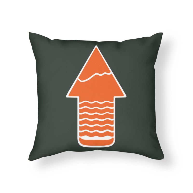 TAKE A HIKE in Throw Pillow by DYLAN'S SHOP