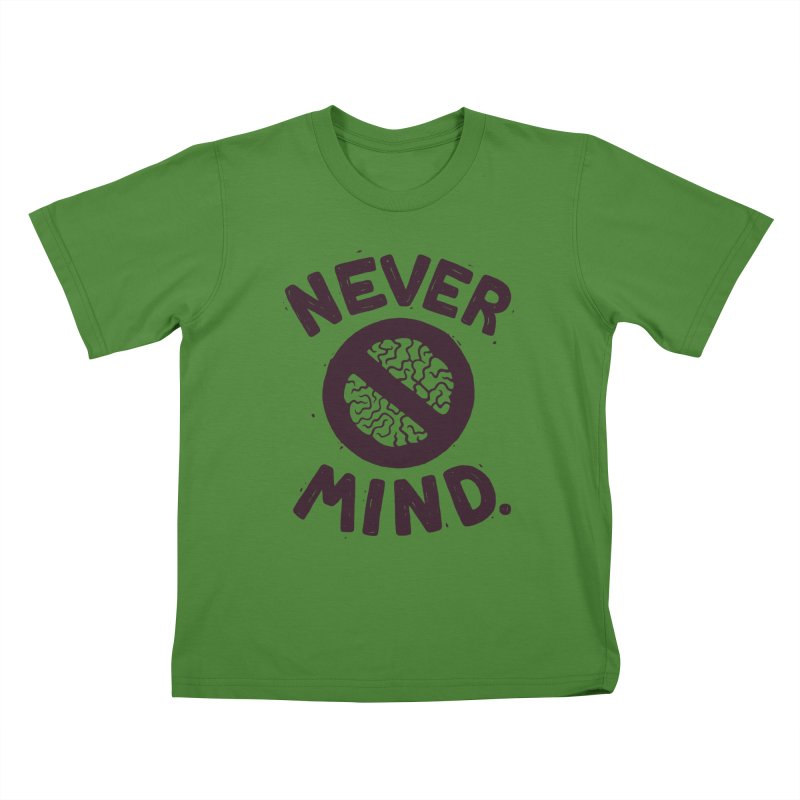 NEVER M/ND Kids T-shirt by DYLAN'S SHOP