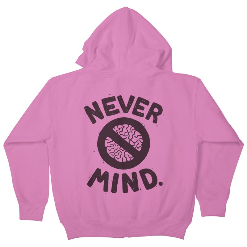 NEVER M/ND Kids Zip-Up Hoody by DYLAN'S SHOP