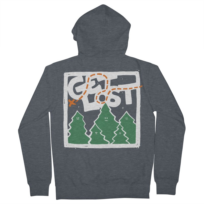 GET LOST Women's Zip-Up Hoody by DYLAN'S SHOP