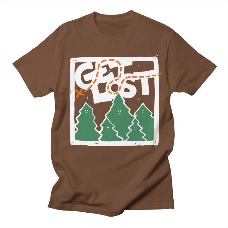 GET LOST Men's T-shirt by DYLAN'S SHOP