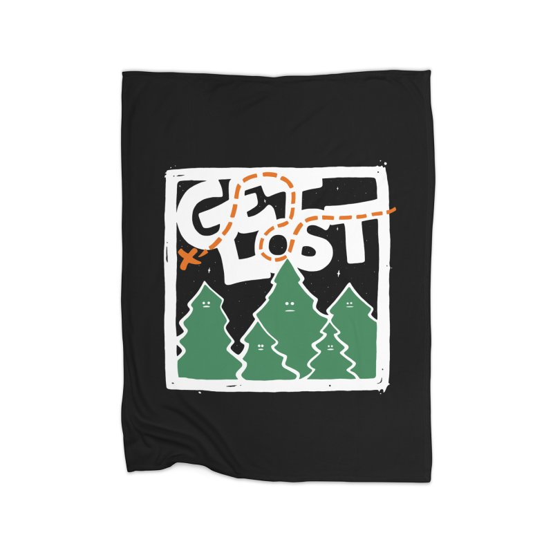 GET LOST Home Blanket by DYLAN'S SHOP