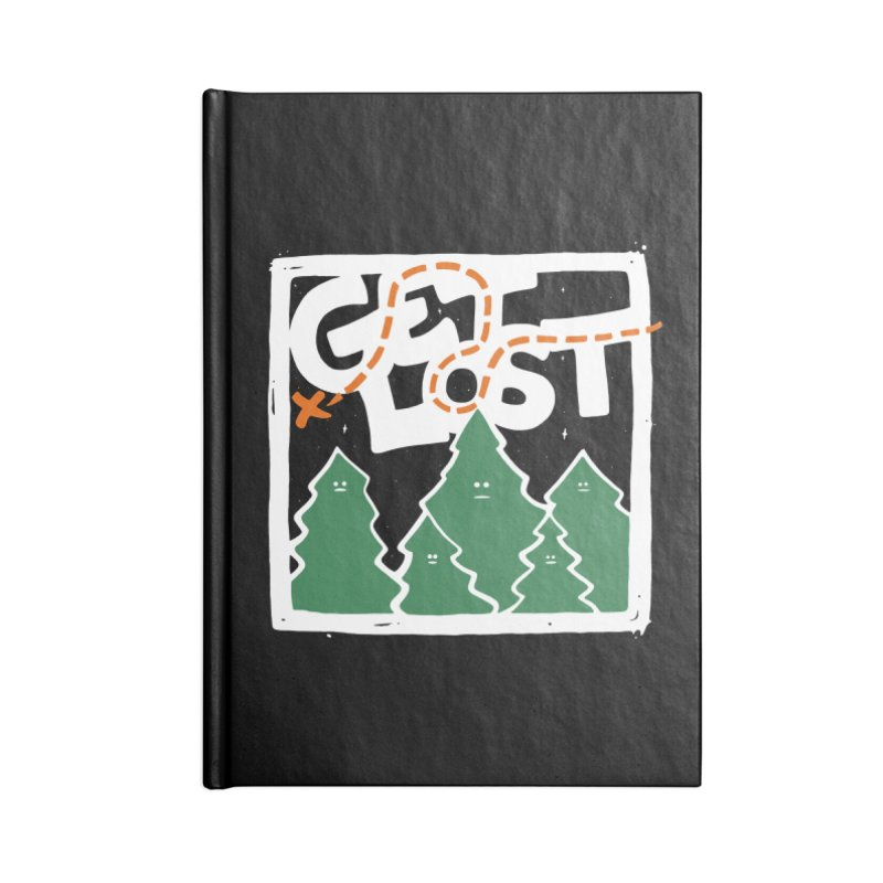 GET LOST Accessories Notebook by DYLAN'S SHOP