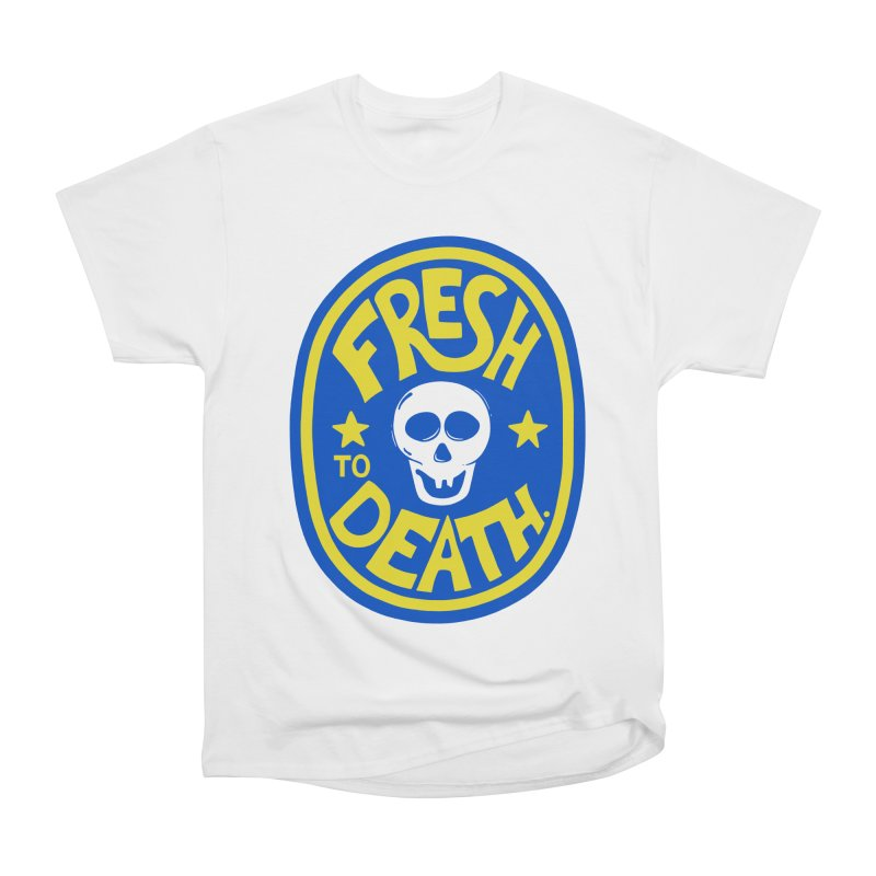 ROT ON!  in Men's Classic T-Shirt White by DYLAN'S SHOP