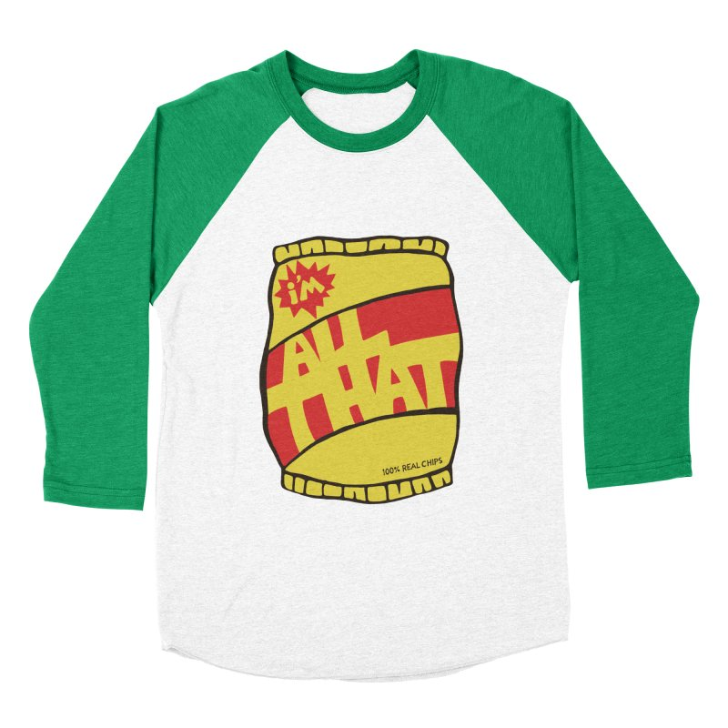 ALL THAT!  Women's Baseball Triblend T-Shirt by DYLAN'S SHOP