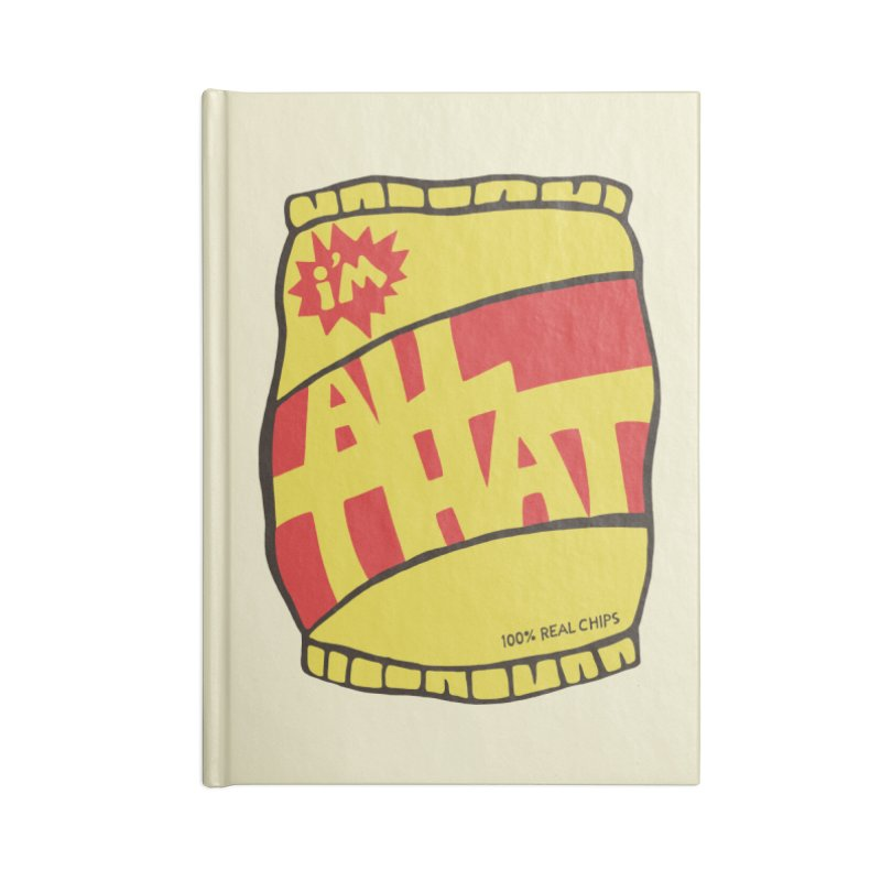 ALL THAT!  Accessories Notebook by DYLAN'S SHOP