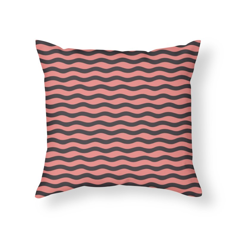 W\VVY Home Throw Pillow by DYLAN'S SHOP