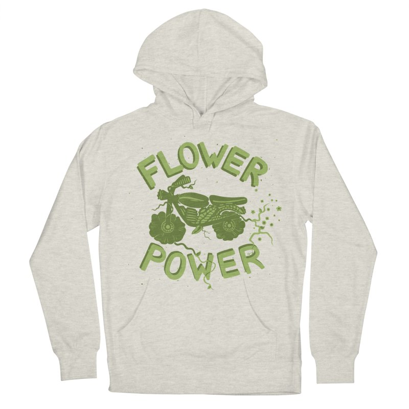 FLORAL FUEL Men's Pullover Hoody by DYLAN'S SHOP