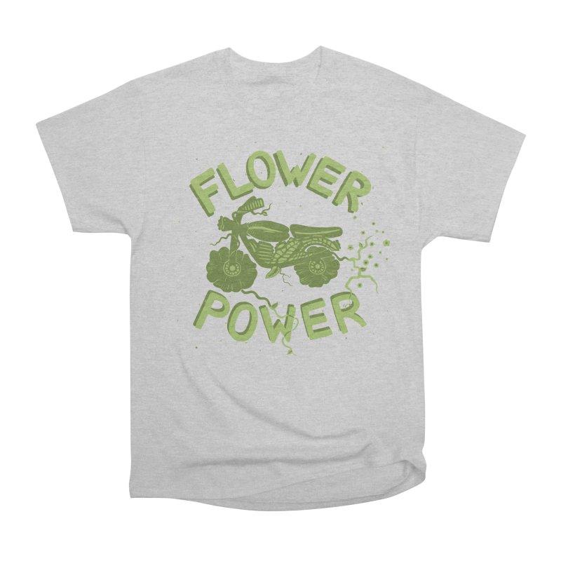 FLORAL FUEL Men's Classic T-Shirt by DYLAN'S SHOP