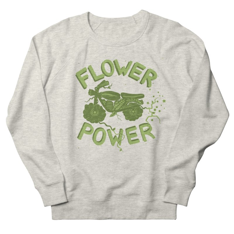 FLORAL FUEL Men's Sweatshirt by DYLAN'S SHOP