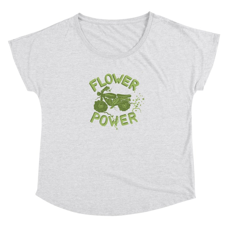 FLORAL FUEL Women's Dolman by DYLAN'S SHOP