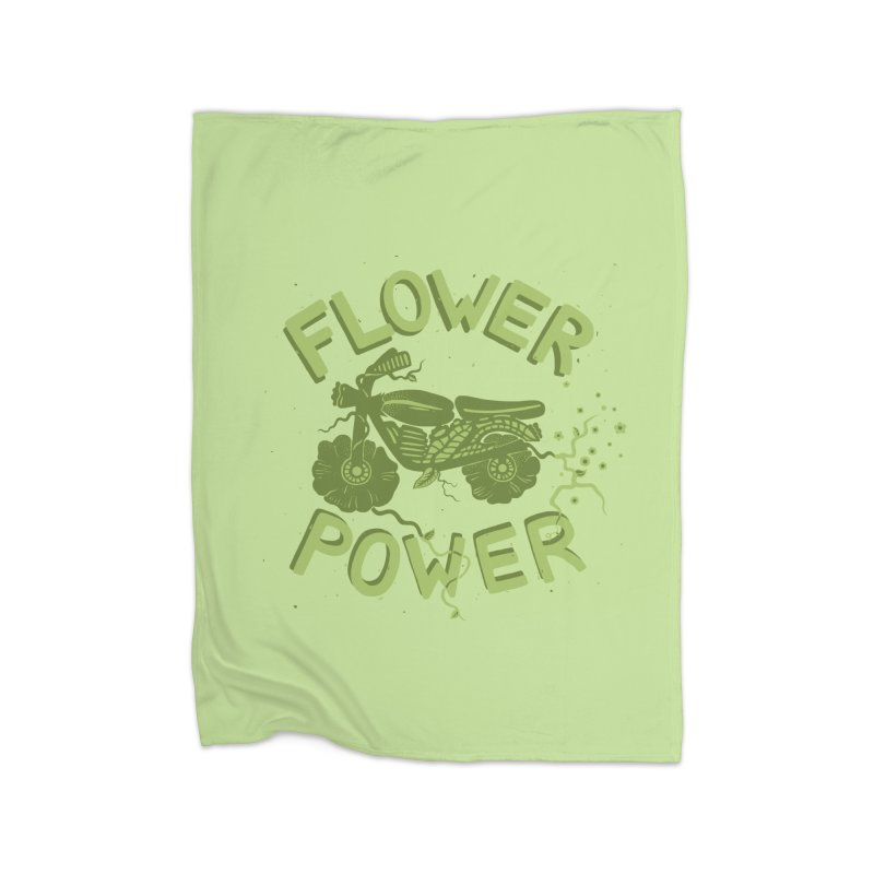 FLORAL FUEL Home Blanket by DYLAN'S SHOP
