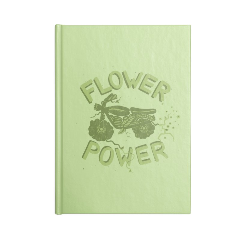 FLORAL FUEL Accessories Notebook by DYLAN'S SHOP