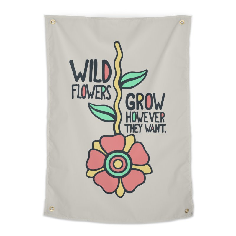 W/LDFLOWER Home Tapestry by DYLAN'S SHOP