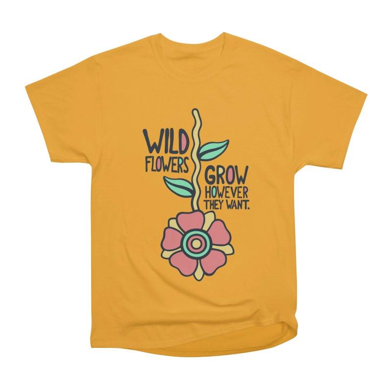W/LDFLOWER Men's Classic T-Shirt by DYLAN'S SHOP