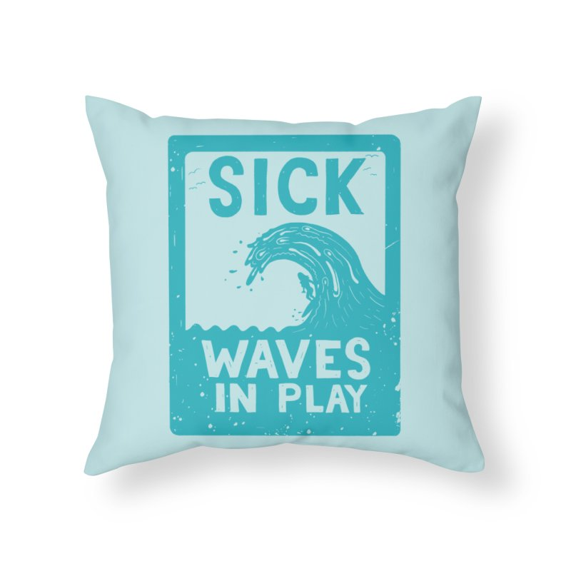 SRF ZNE in Throw Pillow by DYLAN'S SHOP