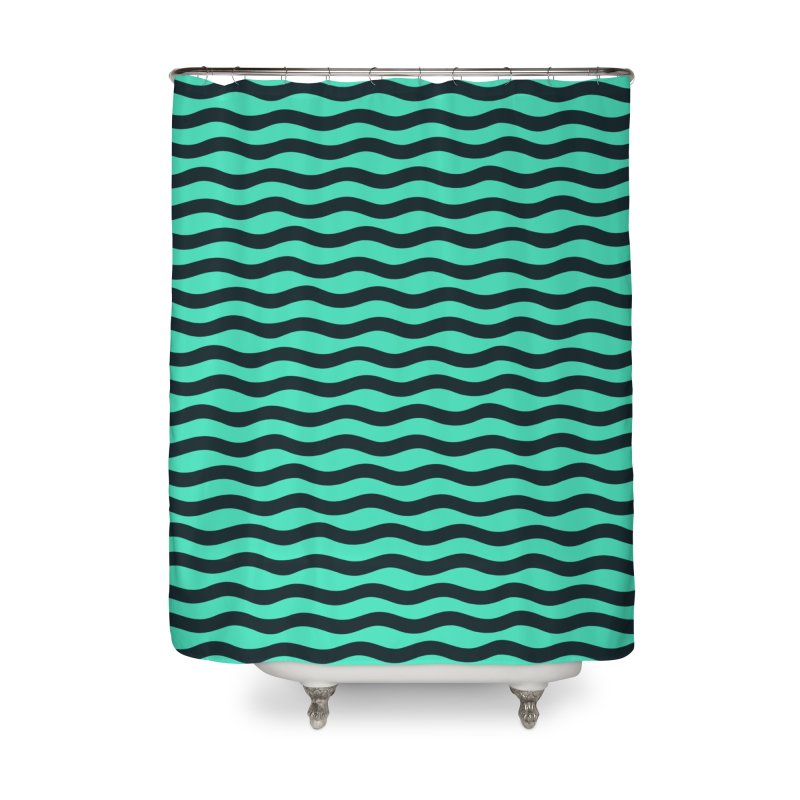 W\VY Home Shower Curtain by DYLAN'S SHOP
