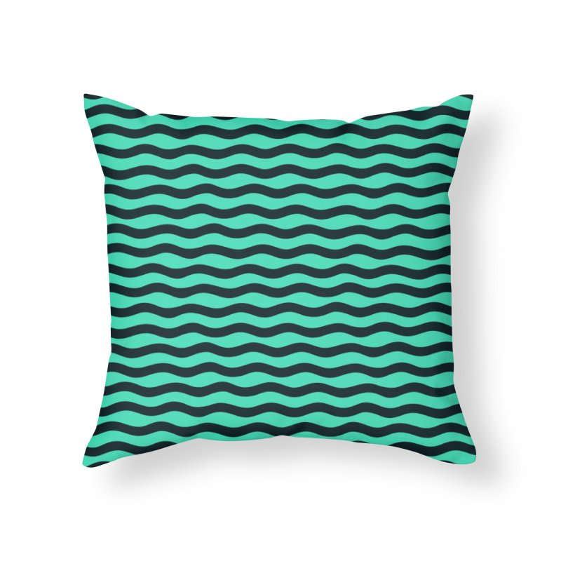 W\VY Home Throw Pillow by DYLAN'S SHOP